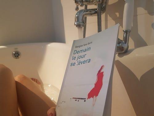 Mon livre prend un bain